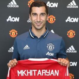 Мхитарян в Манчестер Юнайтед